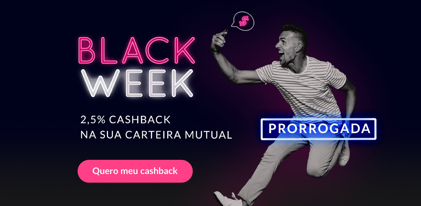 Black Week 2,5% de cashback